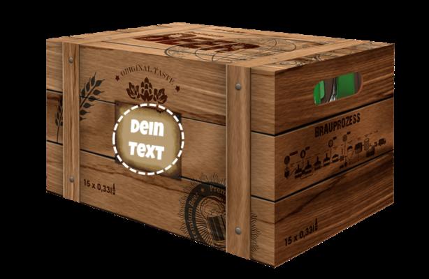 Individuelle Bier-Box